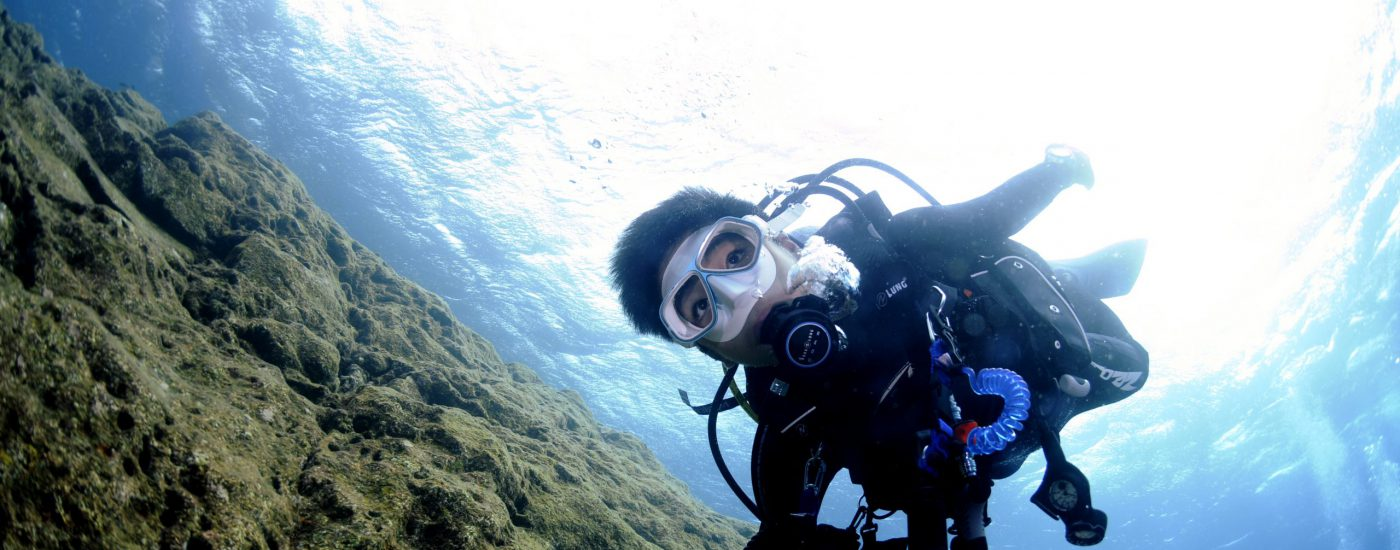 Let's go diving in JAPAN
